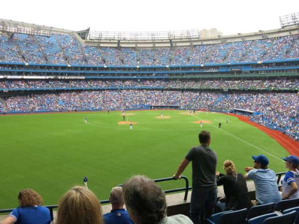 Rogers Centre, section: 241L, row: 3, seat: 108