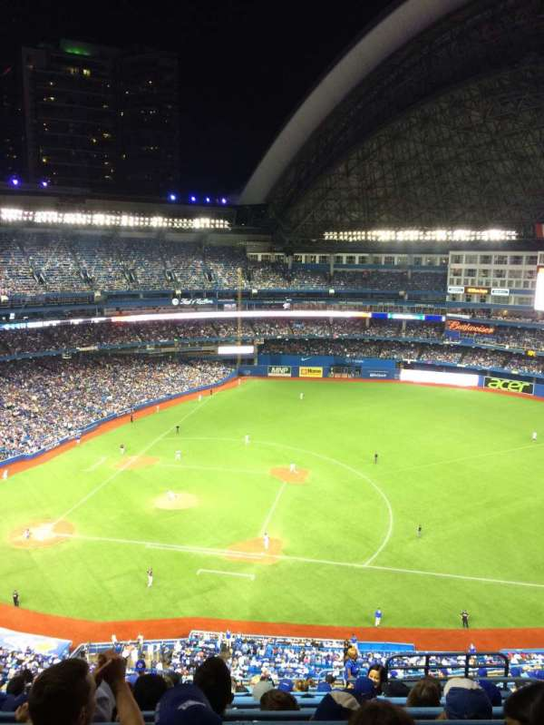 Rogers Centre, section: 517R, row: 10, seat: 7