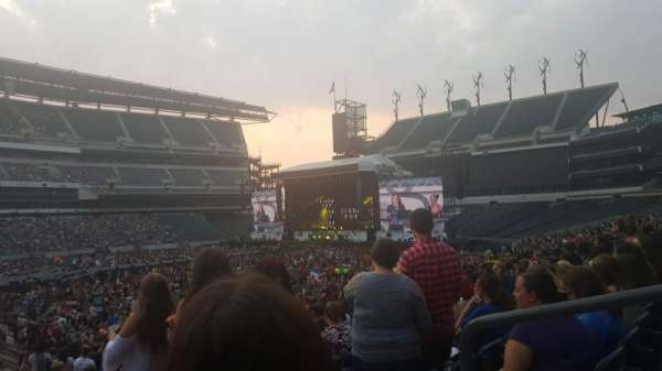 Lincoln Financial Field, section: 117, row: 25, seat: 3