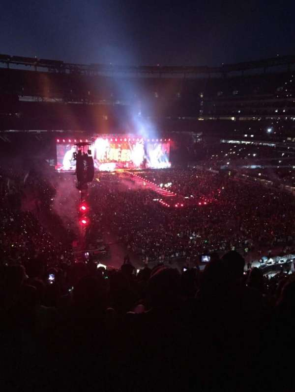 MetLife Stadium, section: 230A, row: A, seat: 2