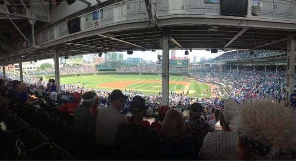 Wrigley Field, section: 216, row: 17, seat: 9