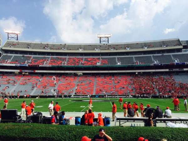 Sanford Stadium, section: 131, row: 3, seat: 9