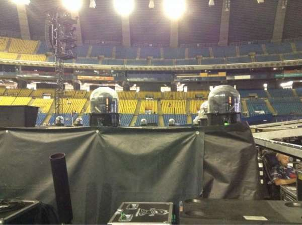 Olympic Stadium, Montreal, section: B5, row: V, seat: 18