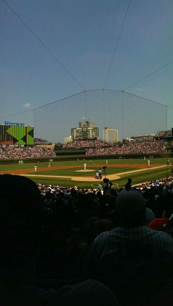 Wrigley Field, section: 120, row: 12, seat: 9