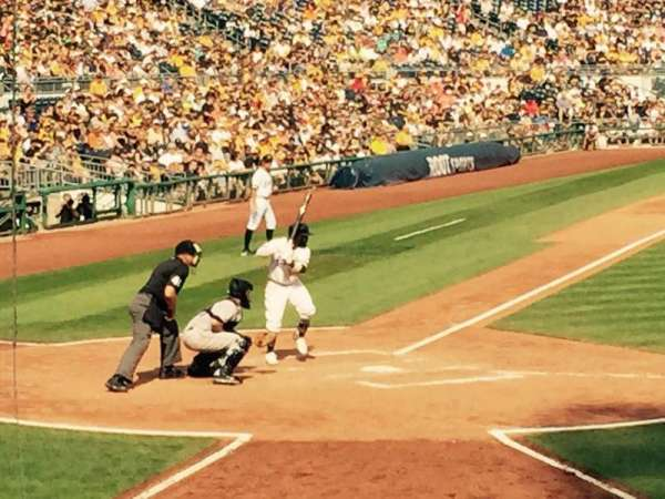PNC Park, section: 114, row: N, seat: 13