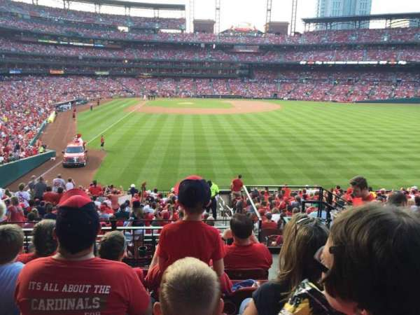 Busch Stadium, section: 128, row: 24, seat: 17