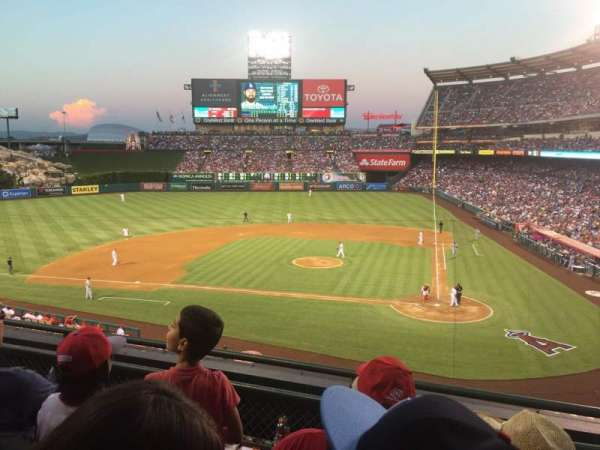 Angel Stadium, section: C321, row: C, seat: 8