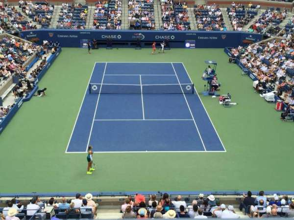 Arthur Ashe Stadium, section: 119, row: A, seat: 3