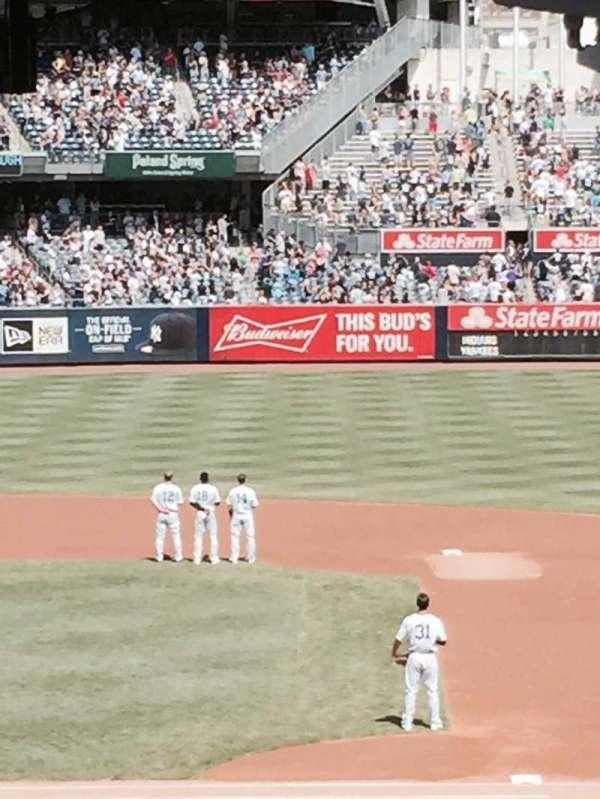 Yankee Stadium, section: 107, row: 10, seat: 1