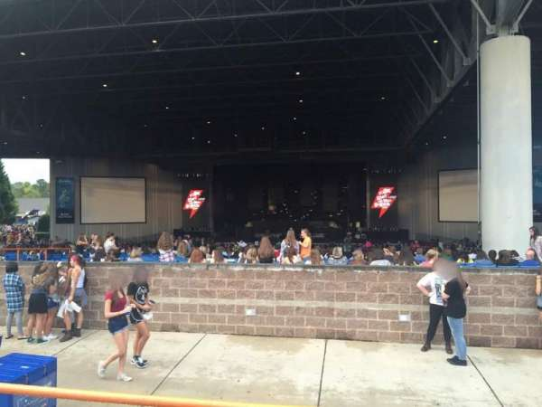 PNC Music Pavilion, section: 12, row: B, seat: 11