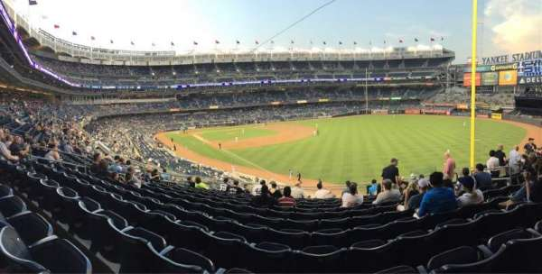 Yankee Stadium, section: 209, row: 12, seat: 10