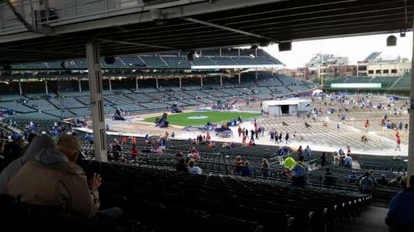 Wrigley Field, section: 229, row: 18, seat: 1