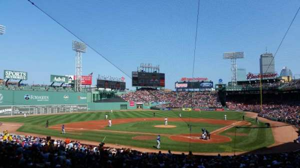 Fenway Park, section: Grandstand 24, row: 3, seat: 1