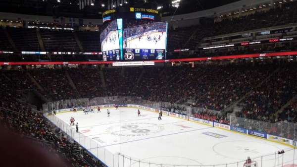 Centre Vidéotron, section: 108, row: UU, seat: 20