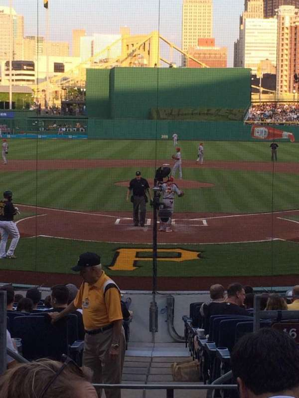 PNC Park, section: 116, row: G