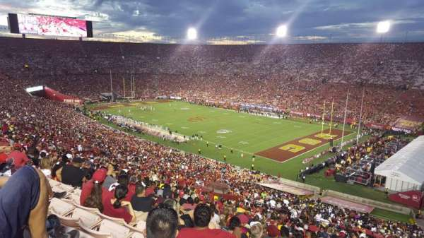 Los Angeles Memorial Coliseum, section: 302, row: 7, seat: 18
