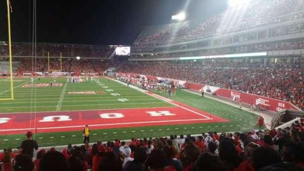 TDECU Stadium, section: 119, row: 17, seat: 25