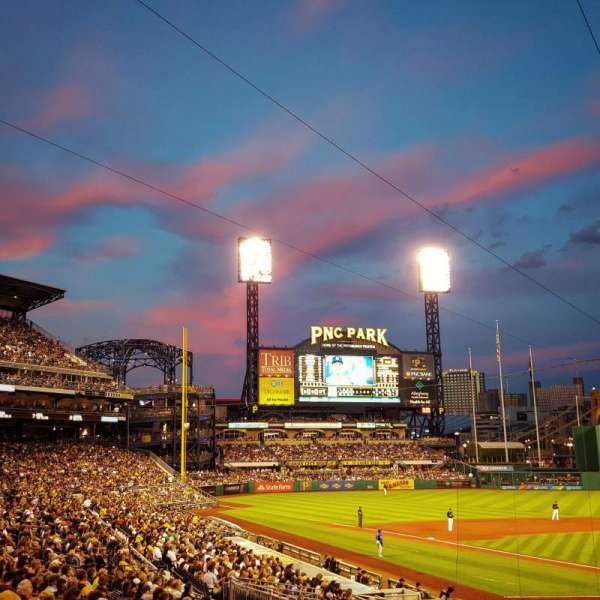 PNC Park, section: 117, row: H, seat: 3 and 4