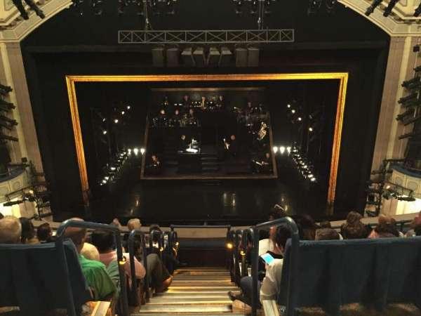 Ambassador Theatre, section: Rear Mezzanine RC, row: A, seat: 110
