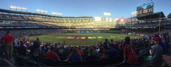Globe Life Park in Arlington, section: 35, row: 23, seat: 5