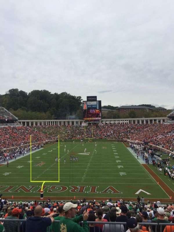 Scott Stadium, section: 315, row: A, seat: 25