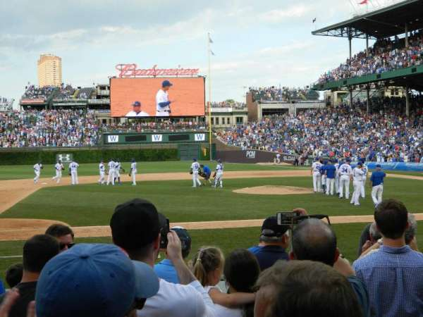 Wrigley Field, section: 12, row: 7, seat: 10