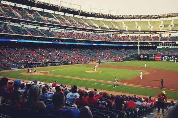 Globe Life Park in Arlington, section: 35, row: 25, seat: 1