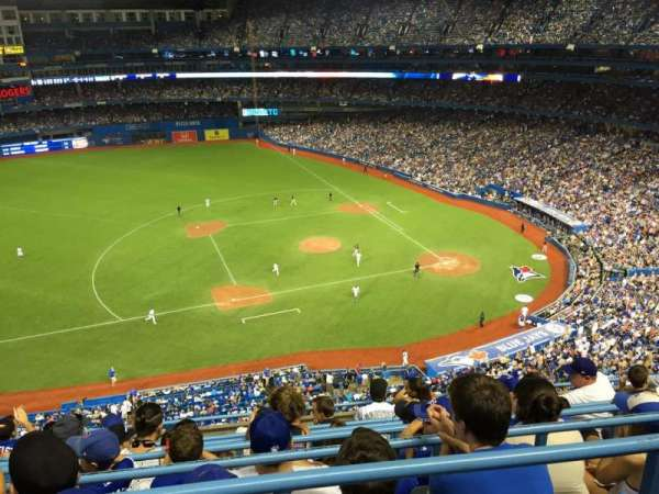 Rogers Centre, section: 531R, row: 7, seat: 7