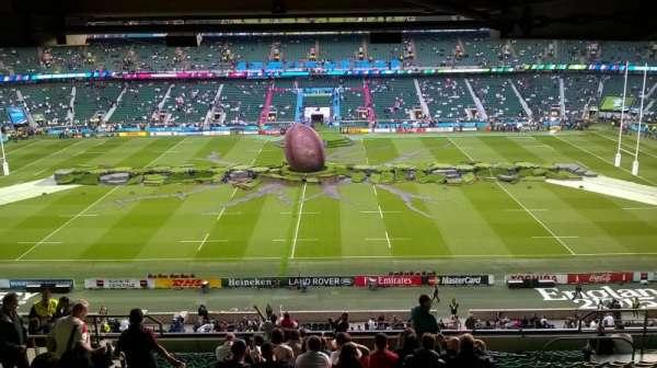 Twickenham Stadium, section: M33, row: 74, seat: 238