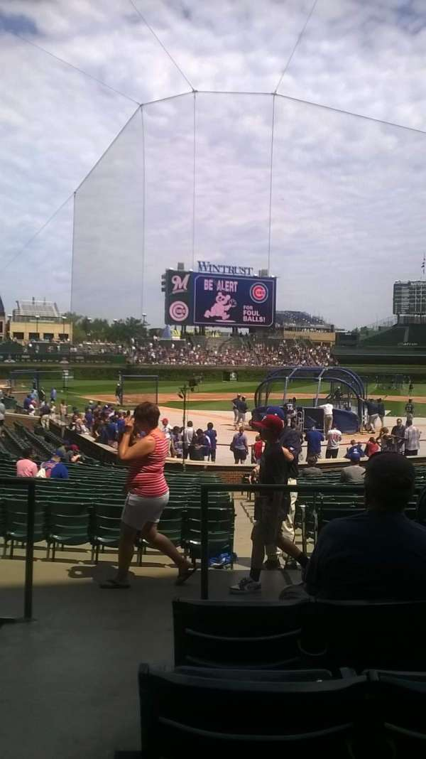 Wrigley Field, section: 119, row: 6, seat: 1