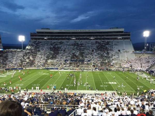 Beaver Stadium, section: WDU, row: 60, seat: 30