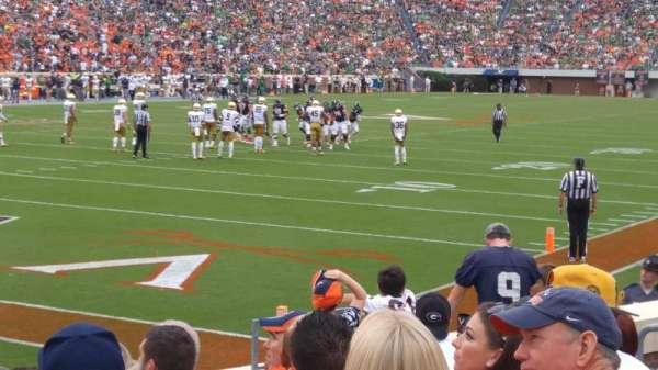 Scott Stadium, section: 131, row: K, seat: 11