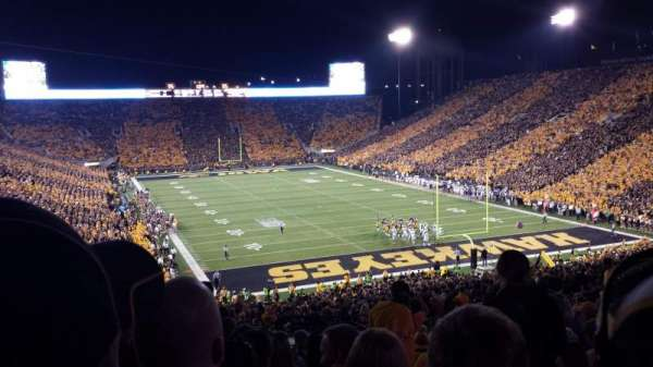 Kinnick Stadium, section: 219, row: 16, seat: 2