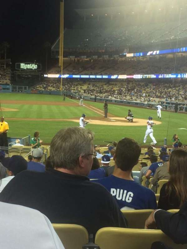 Dodger Stadium, section: 13FD, row: N, seat: 3