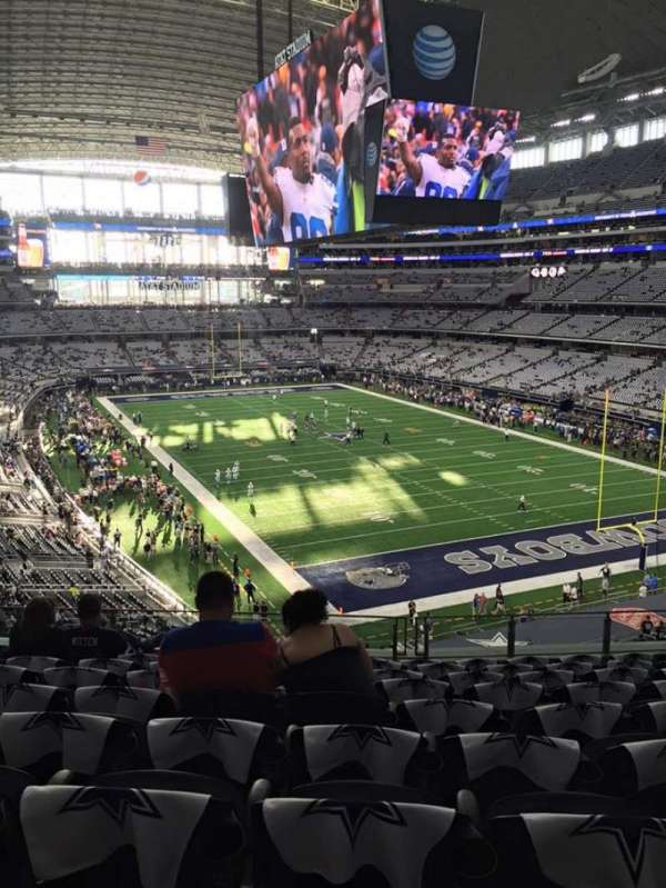 AT&T Stadium, section: 302, row: 9, seat: 11