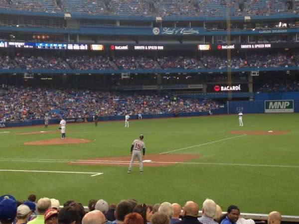 Rogers Centre, section: 115L, row: 10, seat: 5