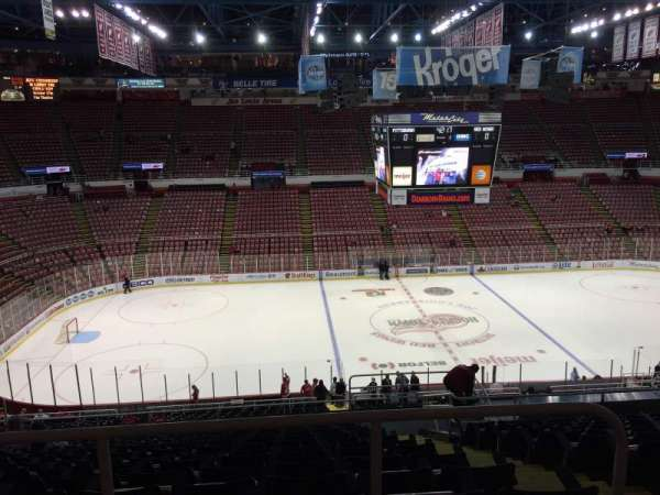 Joe Louis Arena, section: 223, row: 15, seat: 3