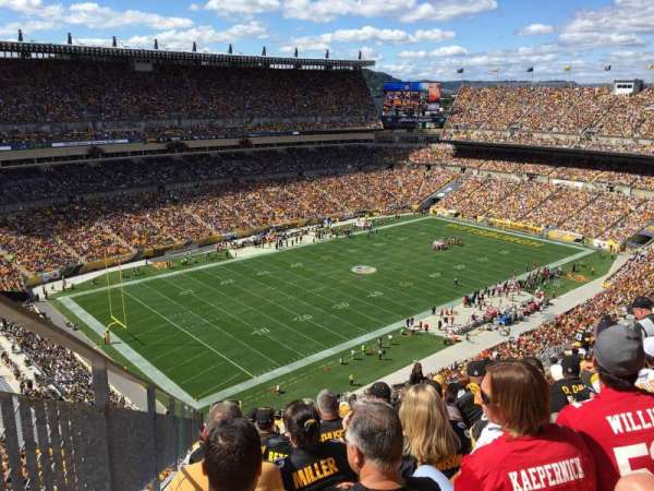 Heinz Field, section: 504, row: W, seat: 11