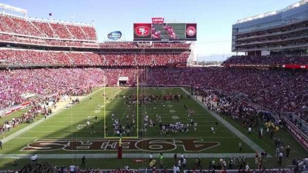 Levi's Stadium, section: 203, row: 2, seat: 4