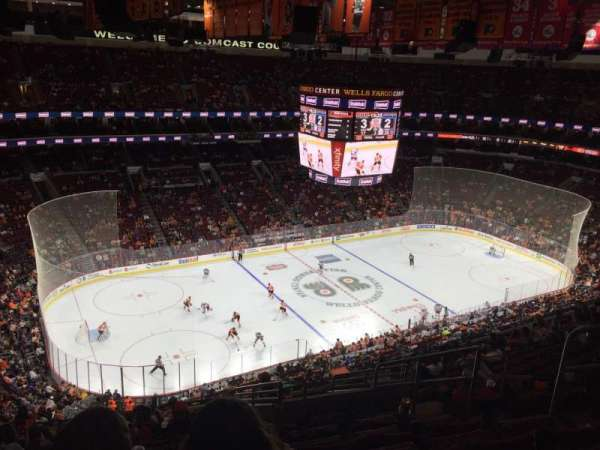 Wells Fargo Center, section: 222, row: 14, seat: 5