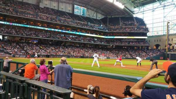 Minute Maid Park, section: 127, row: 5, seat: 6