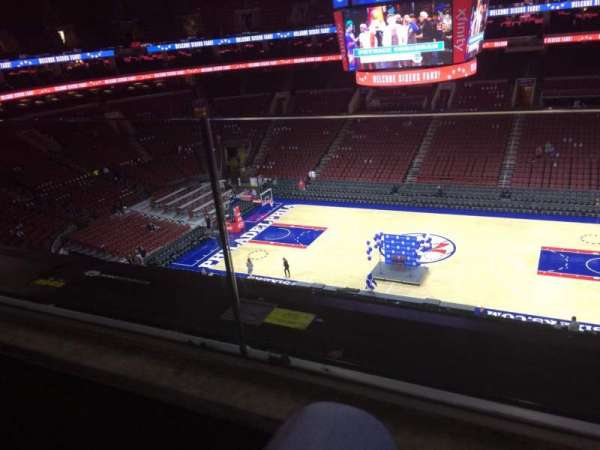 Wells Fargo Center, section: 202, row: 1, seat: 10