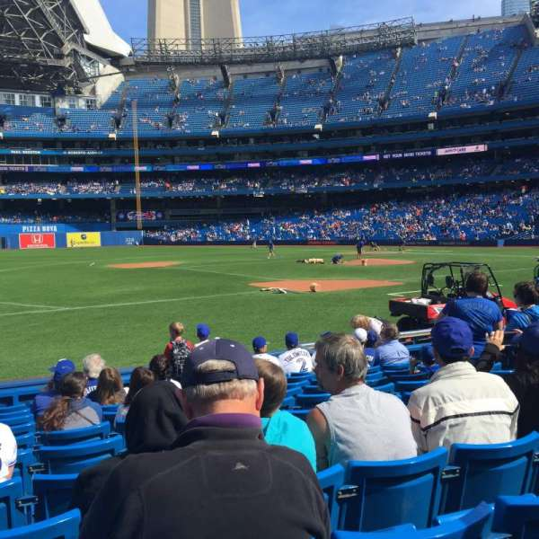 Rogers Centre, section: 128L, row: 9