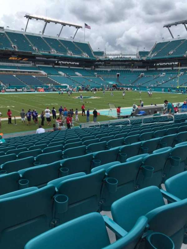 Hard Rock Stadium, section: 121, row: 16, seat: 15