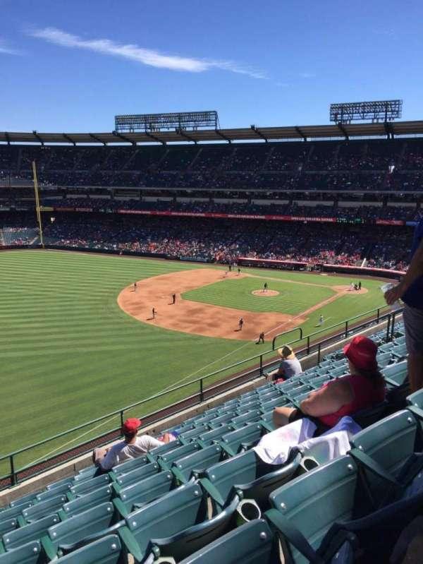 Angel Stadium, section: V407, row: H, seat: 8