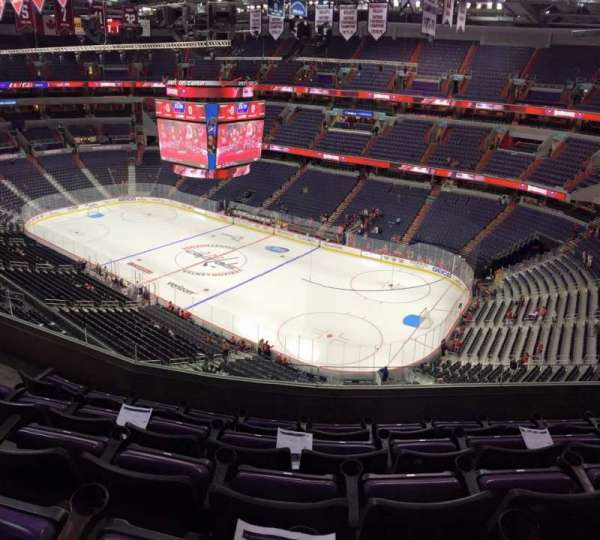 Capital One Arena, section: 421, row: E, seat: 7