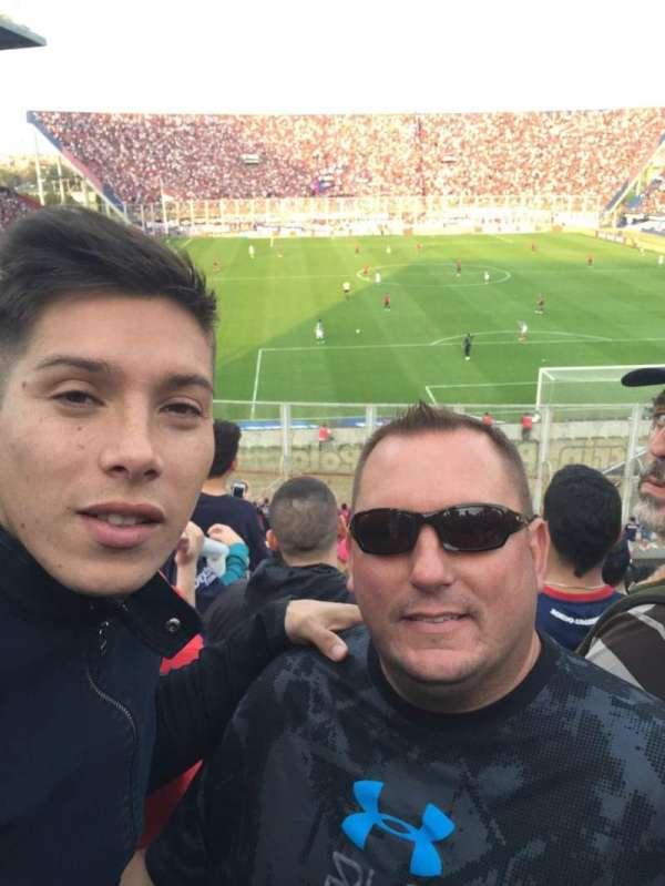 Estadio Pedro Bidegain, section: Platea Codo