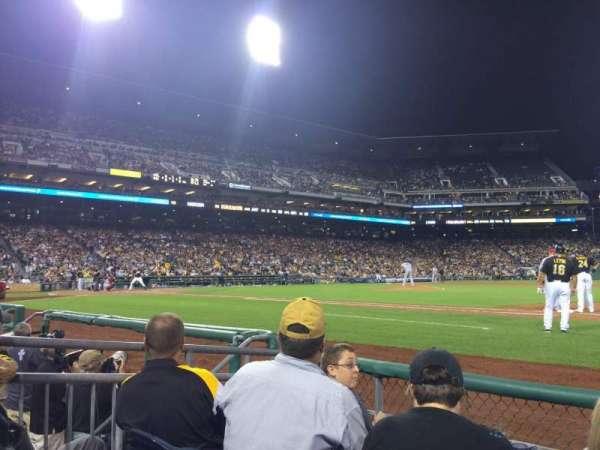 PNC Park, section: 9, row: D, seat: 5