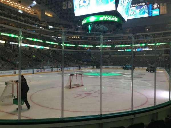 American Airlines Center, section: 123, row: E, seat: 3