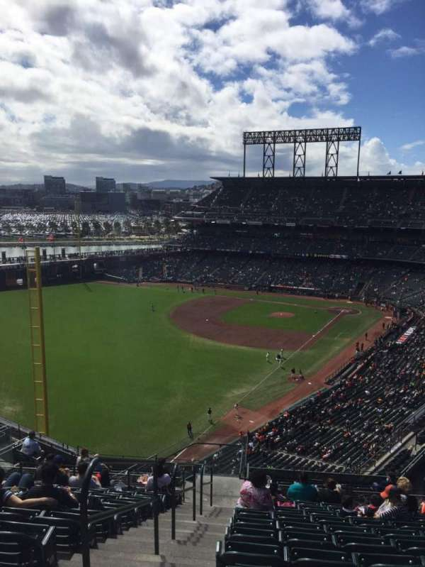 Oracle Park, section: VR333, row: 12, seat: 22